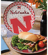 Memory Company Gameday Ceramic Plate - University of Nebraska