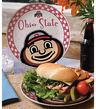 Memory Company Gameday Ceramic Plate - Ohio State University