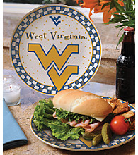 Memory Company Gameday Ceramic Plate - University of West Virginia