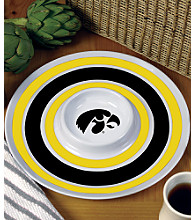 Memory Company Round Chip & Dip Platter - University of Iowa