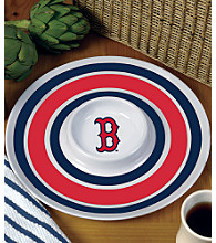 Memory Company Round Chip & Dip Platter - Boston Red Sox