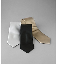 Kenneth Roberts Platinum® Men's Solid Satin Tie