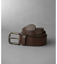 Levi's® Men's Brown Leather Loop Belt