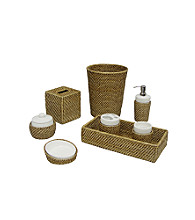 Elegant Home Fashions® Hana Collection Bath Accessories - Honey