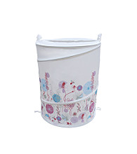 Elegant Home Fashions® Flower Collapsible Hamper