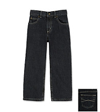 Ruff Hewn Boys' 4-7X Straight Leg 5 Pocket Denim Jeans - Grey Wash