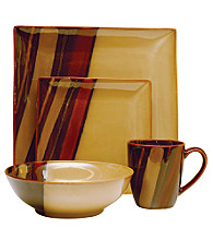 Sango Avanti Brown 16-pc. Dinnerware Set