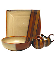 Sango Avanti Brown 5-pc. Completer Set