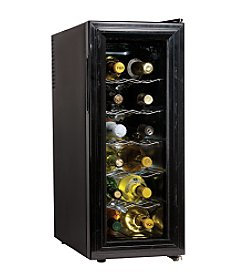Koolatron™ 12-Bottle Slim Wine Cellar-Black