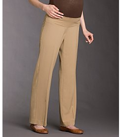 Three Seasons Maternity™ Dress Pants - Dark Tan