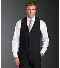 Kenneth Cole REACTION® Men's Vest - Gray Stripe