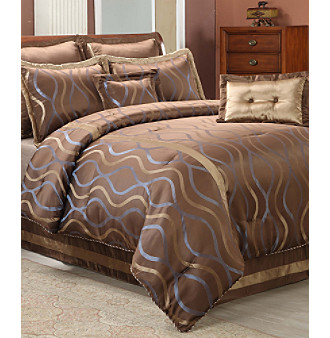 Hourglass 8-Piece Bedding Ensemble by Central Park