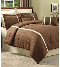 Kabini 8-Piece Bedding Ensemble by Central Park - Brown