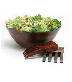 Lipper International 3-pc. Wavy Salad Bowl Set