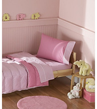 Crispy Pink Toddler 4-pc. Bedding Set by Pem-America, Inc.®
