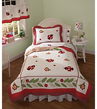 Ladybug Yard Bedding Collection by Pem-America, Inc.®