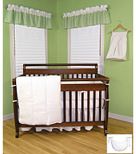 Pique White Baby Bedding Collection by Trend Lab