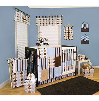 Prep School Blue Baby Bedding Collection by Trend Lab