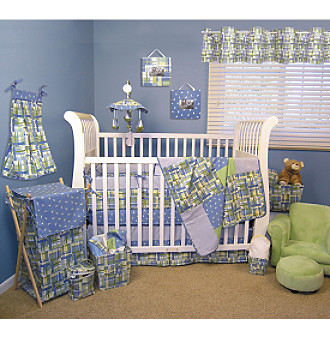 Nantucket Baby Bedding Collection by Trend Lab - Blue