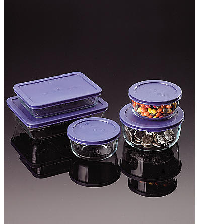 Pyrex Storage Plus 10-pc. Container Set