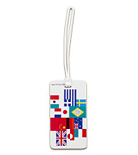 Lewis N. Clark® Fashion Luggage Tag - International Flag