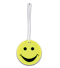 Lewis N. Clark® Smiley Face Luggage Tag