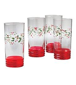 Pfaltzgraff® Winterberry Coolers - Set of 4