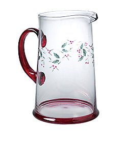 Pfaltzgraff® Winterberry 2.5 Quart Glass Water Pitcher