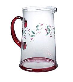 Pfaltzgraff® Winterberry 2.5 Quart Glass Water Pitcher