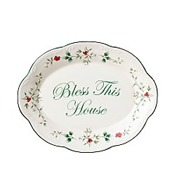 Pfaltzgraff® Winterberry Bless This House Plate