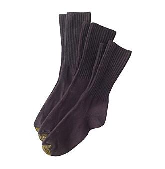 GOLD TOE® All Day Comfort Bermuda Socks 3-Pack