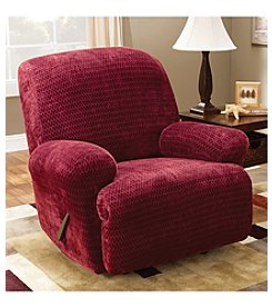 Sure Fit® Stretch Royal Diamond One-Piece Recliner Slipcover