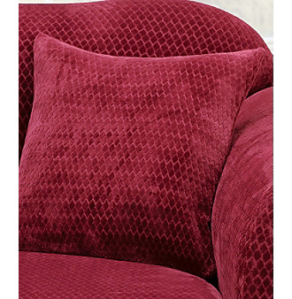 "Sure Fit® Stretch Royal Diamond 18"" Accent Pillow"