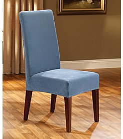 Sure Fit® Stretch Pique Dining Room Chair Slipcover - Short