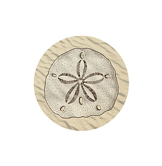 Thirstystone® Sand Dollar 4-Pack Coasters