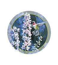 Thirstystone® Hummer in Delphiniums 4-Pack Coasters