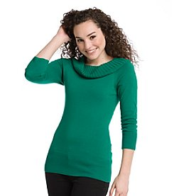 A. Byer Juniors' Boatneck Marilyn Pullover Sweater