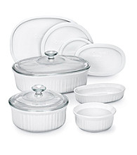 CorningWare® French White® 10-pc. Bakeware Set