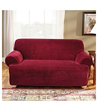 Sure Fit® Stretch Royal Diamond 1-pc. Sofa & Loveseat T-Cushion Slipcovers