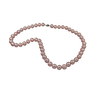 Genuine Freshwater Pearl Necklace - Natural