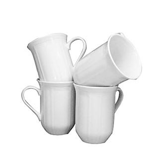 Mikasa® Antique White 14-oz. Mugs - Set of 4