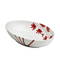 Mikasa® Pure Red Oval Vegetable Bowl