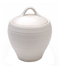 Mikasa® Swirl White Covered Sugar Bowl