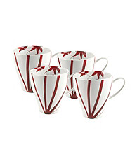 Mikasa® Pure Red Set of 4 Mugs