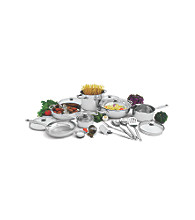 Wolfgang Puck® 20-pc. Stainless Steel Cookware Set