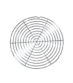Bethany Housewares Wire Rack for Lefse Grill