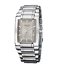 Kenneth Cole New York Men's Rectangle Steel Dial Watch