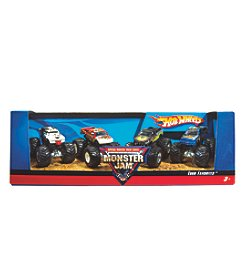 Mattel® Hot Wheels™ Monster Jams Trucks 4-Pack