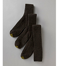 GOLD TOE® Men's 3-Pack Over the Calf Windsor Wool Socks