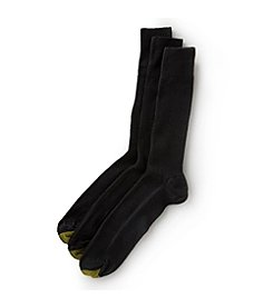 GOLD TOE® Men's 3-Pack Fresh Tex Cotton Metropolitan Socks